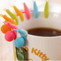 Kjempesøte teposeholdere (snegler)