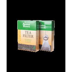 Agatha Bester tefilter i papir