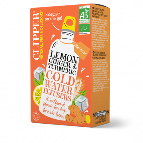 Cold Water Infusers: Lemon, Ginger & Tumeric