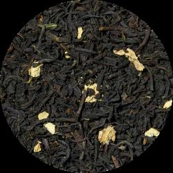 Sort te med ingefær